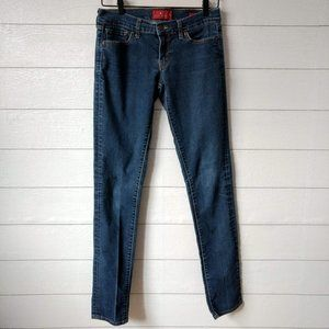 LUCKY Brand Charlie Skinny Jeans Size 2 / 26 Long